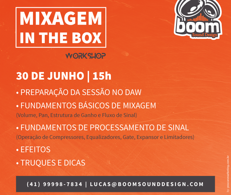 MIXAGEM IN THE BOX